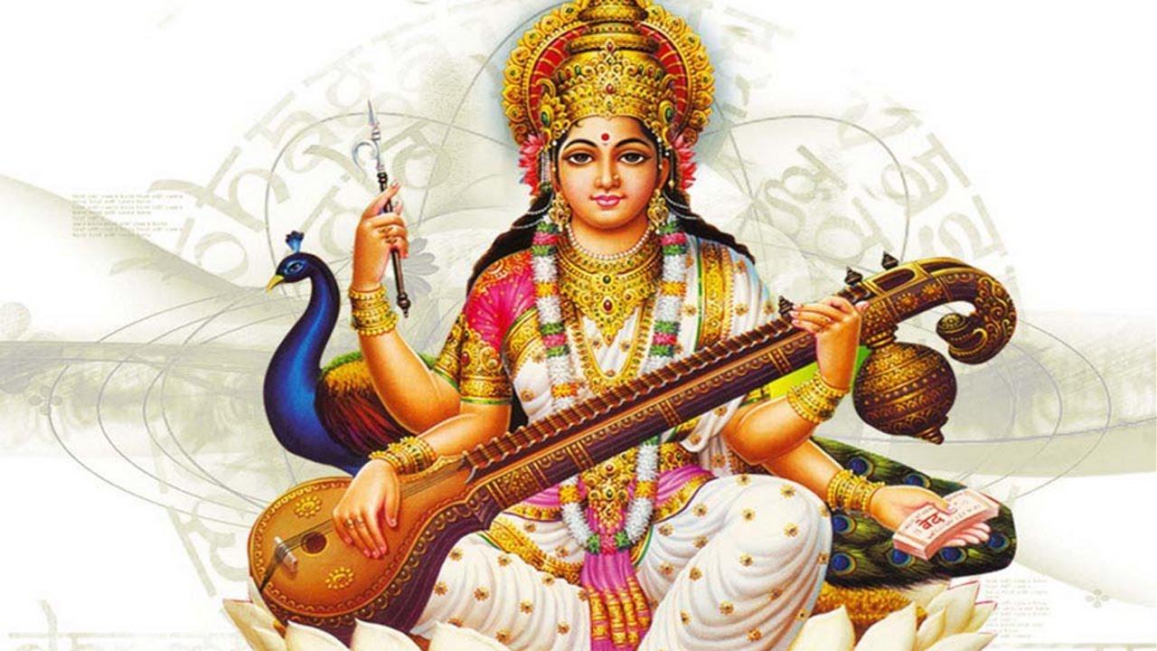 saraswati ji ki aarti