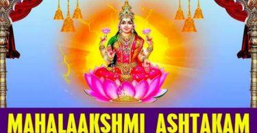 shri mahalaxmi ashtakam in hindi