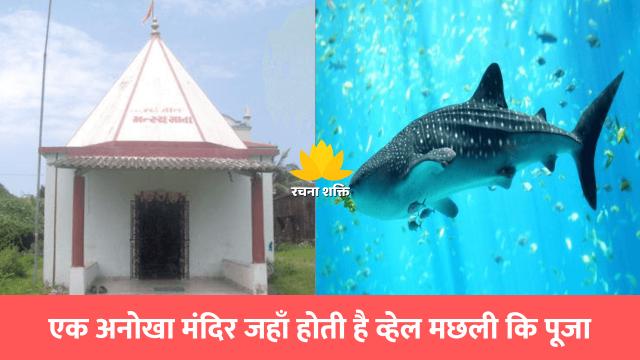 एक अनोखा मंदिर जहाँ होती है व्हेल मछली कि पूजा
